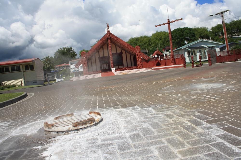 Ohinemutu geothermal